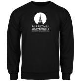 Black Fleece Crew-Missional University Stacked