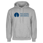 Grey Fleece Hoodie-Primary Mark