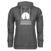 Adidas Climawarm Charcoal Team Issue Hoodie-Missional University Stacked