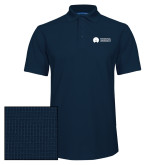 Navy Dry Zone Grid Polo-Missional University Flat