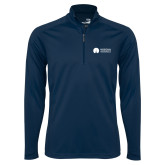 Syntrel Navy Interlock 1/4 Zip-Missional University Flat