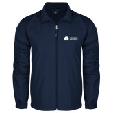 Full Zip Navy Wind Jacket-Missional University Flat