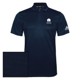 Adidas Climalite Navy Grind Polo-Missional University Stacked
