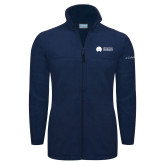 Columbia Full Zip Navy Fleece Jacket-Missional University Flat