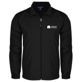 Full Zip Black Wind Jacket-Missional University Flat