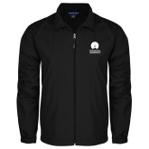 Full Zip Black Wind Jacket-Missional University Stacked