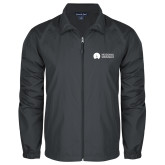 Full Zip Charcoal Wind Jacket-Missional University Flat
