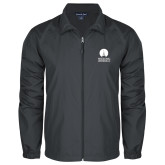Full Zip Charcoal Wind Jacket-Missional University Stacked