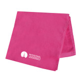 Pink Beach Towel-Missional University Flat