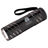 Astro Black Flashlight-Missional University Stacked Engraved