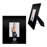 Black Metal 5 x 7 Photo Frame-Missional University Stacked Engraved