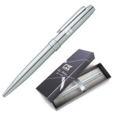 Cutter & Buck Brogue Ballpoint Pen w/Blue Ink-Missional University Flat Engraved