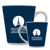 Full Color Latte Mug 12oz-Missional University Stacked