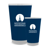 Full Color Glass 17oz-Missional University Stacked