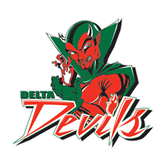 State Large Decal-Devils, 12 in W