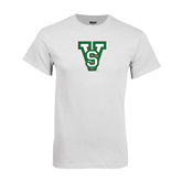 State White T Shirt-VS