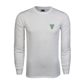State White Long Sleeve T Shirt-VS