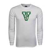 State White Long Sleeve T Shirt-VS