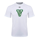 State Under Armour White Tech Tee-VS