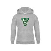 State Youth Grey Fleece Hood-VS