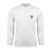 State Syntrel Performance White Longsleeve Shirt-VS