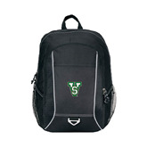 State Atlas Black Computer Backpack-VS
