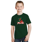 State Youth Dark Green T Shirt-Devils