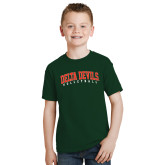 State Youth Dark Green T Shirt-Volleyball