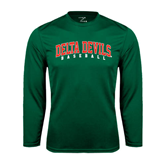 State Syntrel Performance Dark Green Longsleeve Shirt-Baseball