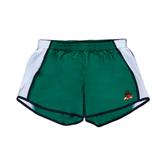 State Ladies Dark Green/White Team Short-Devils