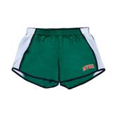 State Ladies Dark Green/White Team Short-Arched MVSU