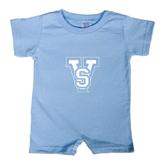 State Light Blue Infant Romper-VS