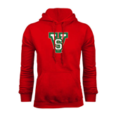 State Red Fleece Hoodie-VS