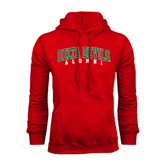 State Red Fleece Hoodie-Alumni