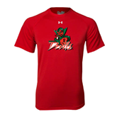 State Under Armour Red Tech Tee-Devils