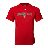 State Under Armour Red Tech Tee-Arched Mississippi Valley