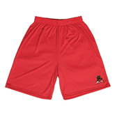 State Syntrel Performance Red 9 Inch Length Shorts-Devils
