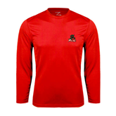 State Syntrel Performance Red Longsleeve Shirt-Devils