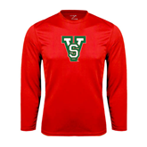 State Syntrel Performance Red Longsleeve Shirt-VS