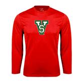 State Performance Red Longsleeve Shirt-VS