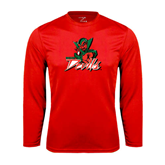 State Performance Red Longsleeve Shirt-Devils