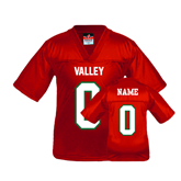 State Youth Replica Red Football Jersey-Personalized