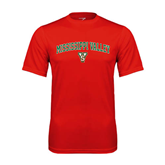 State Performance Red Tee-Arched Mississippi Valley