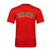 State Syntrel Performance Red Tee-Basketball