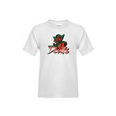 State Youth White T Shirt-Devils