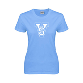 State Ladies Sky Blue T-Shirt-VS