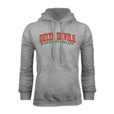 State Grey Fleece Hoodie-Arched Delta Devils