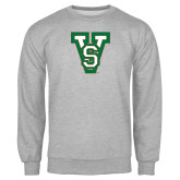State Grey Fleece Crew-VS