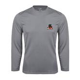 State Syntrel Performance Steel Longsleeve Shirt-Devils