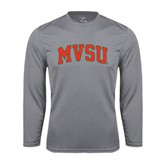 State Syntrel Performance Steel Longsleeve Shirt-Arched MVSU